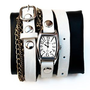 Chain Watch Strap Dove now featured on Fab.