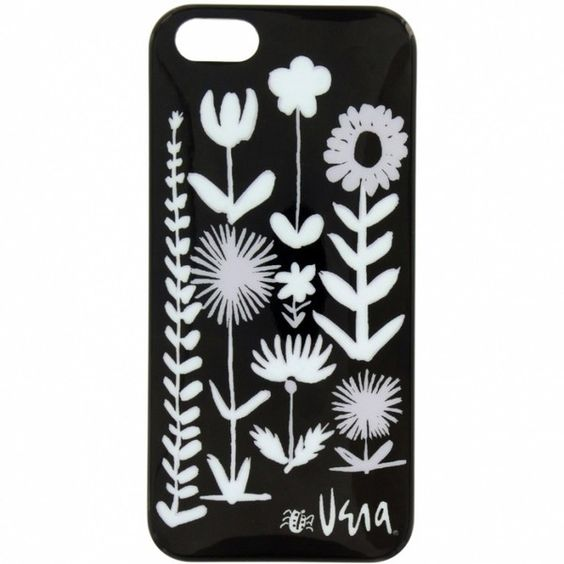 Vera Secret Garden iPhone 5 Cover ($30) ❤ liked on Polyvore featuring accessories, tech accessories, phone cases, phones, case and electronics