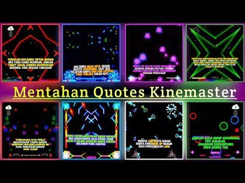 Bagi Bagi Mentahan Quotes Terbaru Bingkai Kinemaster Youtube Bingkai