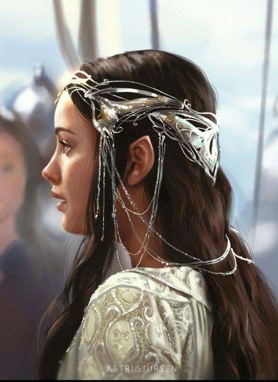 Arwen El Señor De Los Anillos Elfa De Los Bosques Fotografía De Cuento De Hadas