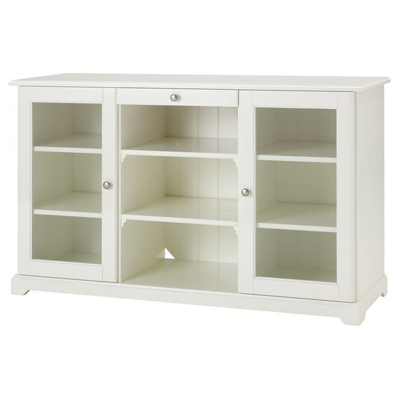 Liatorp Sideboard White Liatorp Glasses And Cabinets