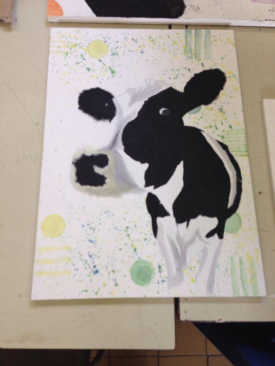Mooooody the cow