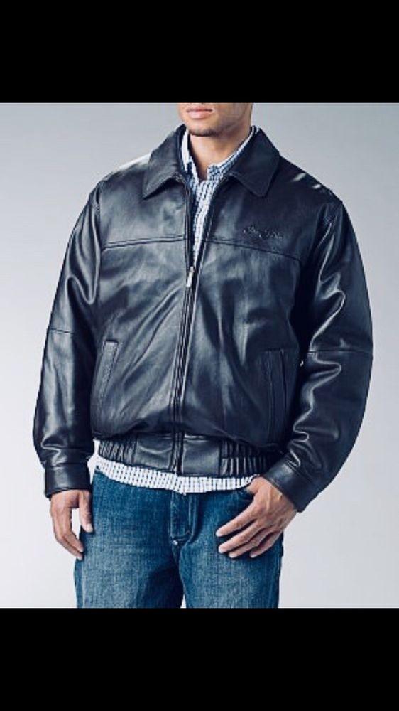 Wool Look Body Leather Look Sleeves Regatta Mens Bomber Harrington Jacket Coat