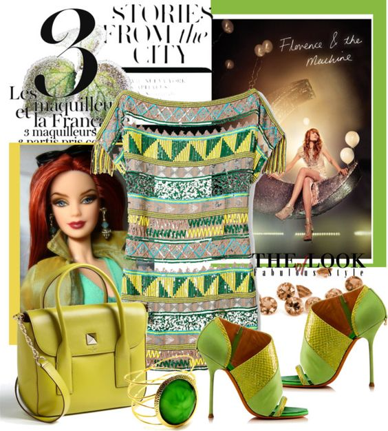 Lemon and Lime, created by arnetta on Polyvore
