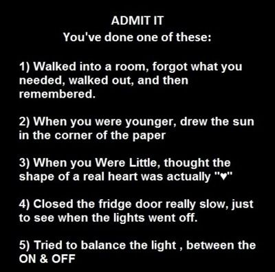 i've done them all.