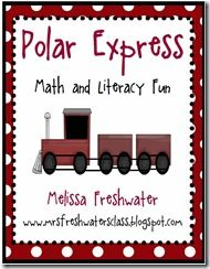 Polar Express Unit 123 pages filled with various math & literacy activities