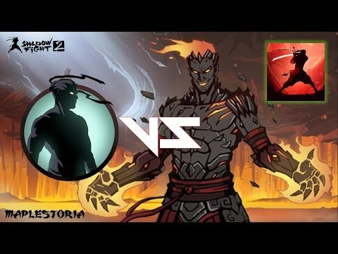 Shadow Fight 2 Raids Meeting Volcano Youtube Mobile Legend Wallpaper Shadow Fight