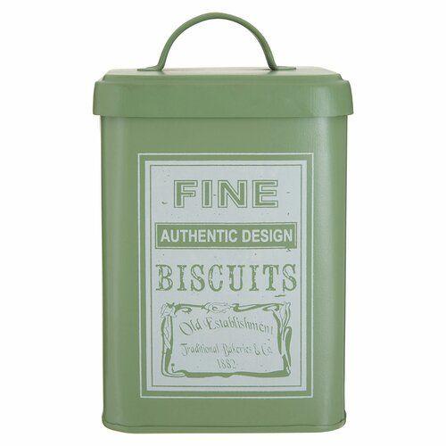 Lid Dolomite Storage Grey Premier Housewares Winnie Biscuit Canister