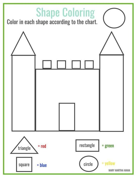 free printable shape coloring printable work pinterest coloring shape and free printable. Black Bedroom Furniture Sets. Home Design Ideas