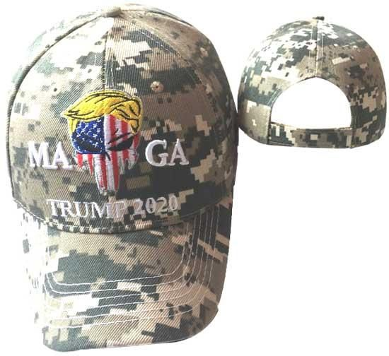 VETERANS FOR TRUMP CAMO USA BRING EMBROIDERED HAT MAGA DONALD TRUMP HAT