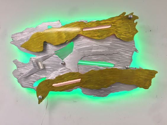 Www.ViscardiDesigns.com LED art by Tony Viscardi