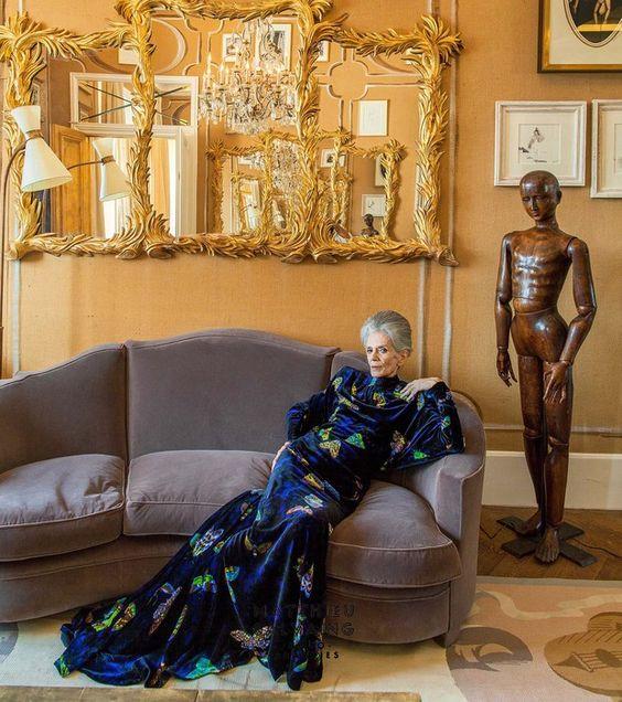Aos 78 anos, ex-modelo retoma carreira na França e estrela dois filmes no Brasil (Foto: Mathieu Salving) - http://epoca.globo.com/colunas-e-blogs/bruno-astuto/noticia/2014/11/baos-78-anosb-ex-modelo-brasileira-posa-para-chanel.html