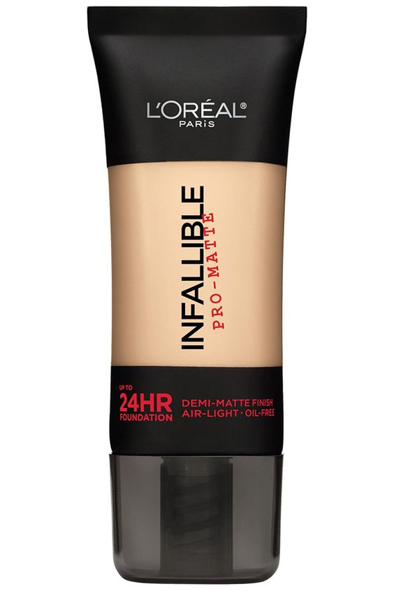L'Oréal Paris Infallible Pro-Matte Foundation, $12, target.com. Courtesy L'Oreal  - HarpersBAZAAR.com