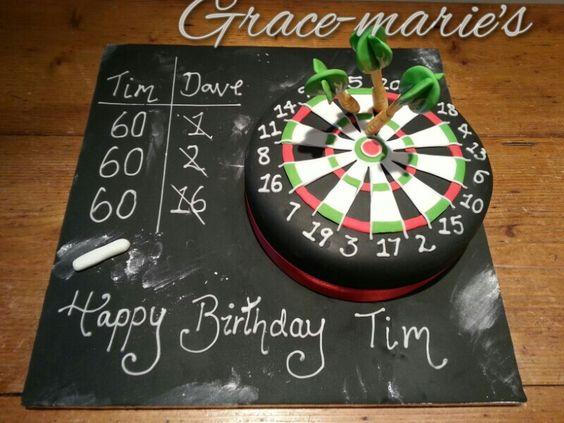 Fondant Cake Board Ideas : Dart Board Cake Cakes Pinterest Cakes, Darts and Dart board