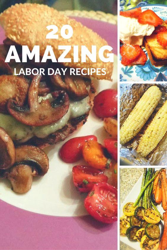 20 Amazing Labor Day Recipes