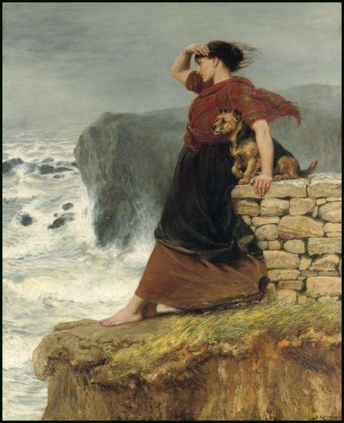Briton Riviere (1840 - 1920) - Hope Deferred