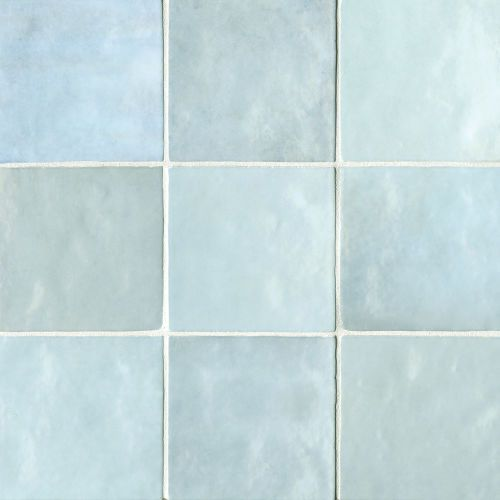 Cloe 5 X 5 Wall Tile In Baby Blue Ceramic Mosaic Tile Ceramic Subway Tile Ceramic Wall Tiles