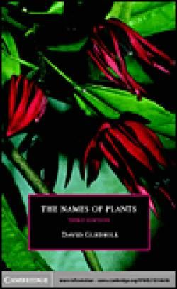 Names of Plants /  by Gledhill, David.