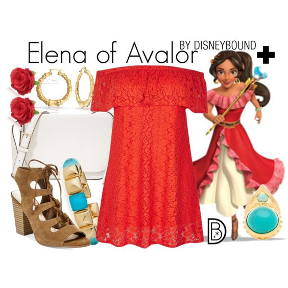 Disney Bound - Elena of Avalor