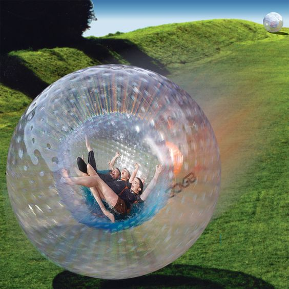 Zorbing:  One day I want to try this