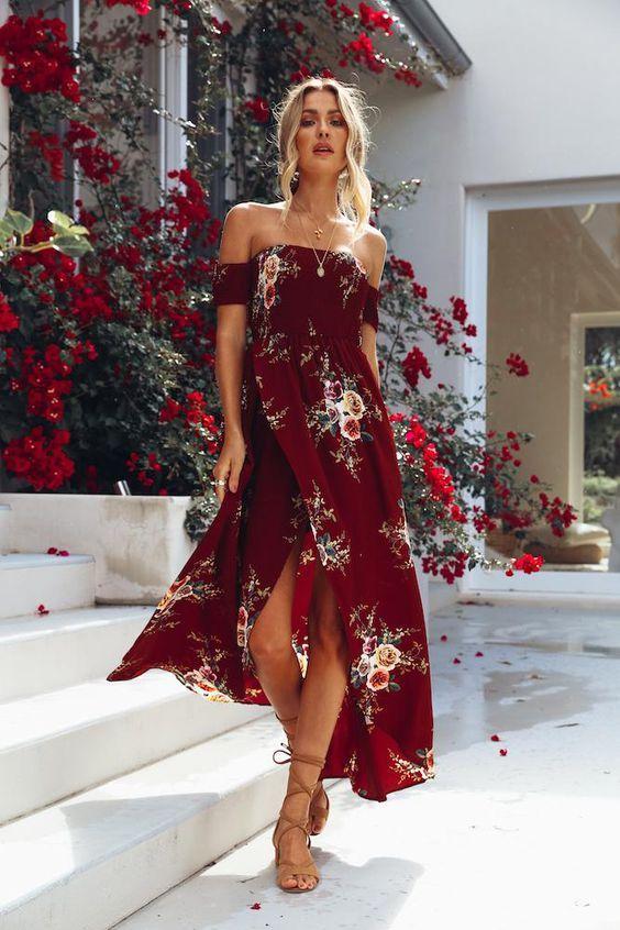 Vestido floral: Dicas de modelos para você arrasar!! #moda #vestidofloral #vestido2019 #tendênciadevestidos #looks #lookdodia