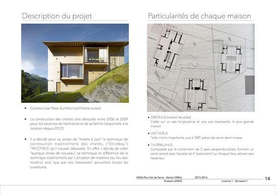 16-Projet III Description du projet & Particularités de chaque maison