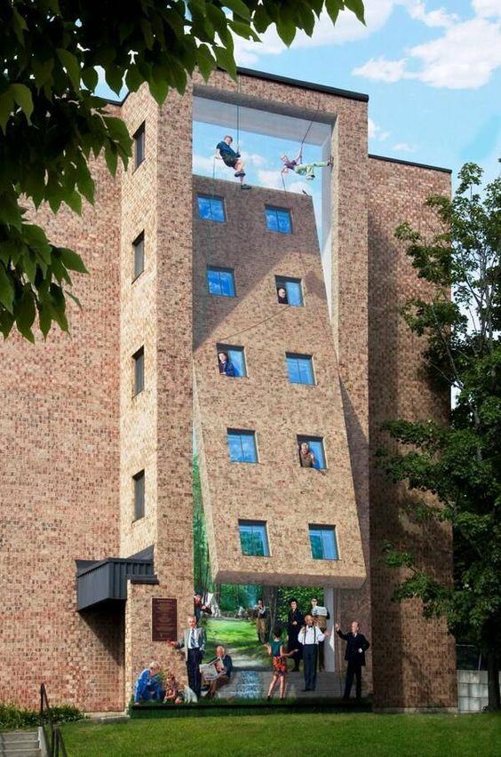 3D muurschilderingen | Graffiti | Muur | Urban | Street Art | Wonen voor Mannen