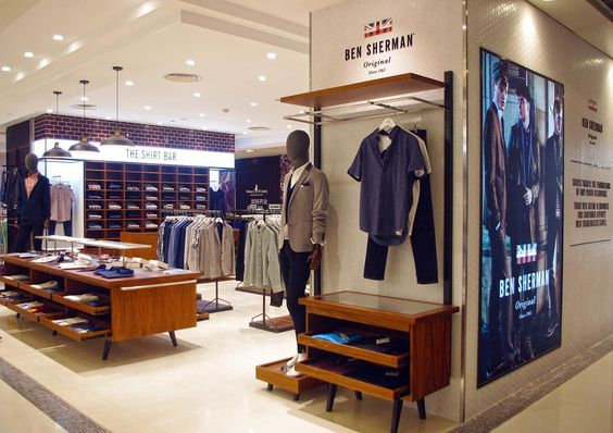 "BEN SHERMAN,  Sogo Shanghai, China, ""Hat's off.... Ben has arrived in Shanghai"", pinned by Ton van der Veer."