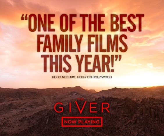 The Giver is one of the best family films this year!
