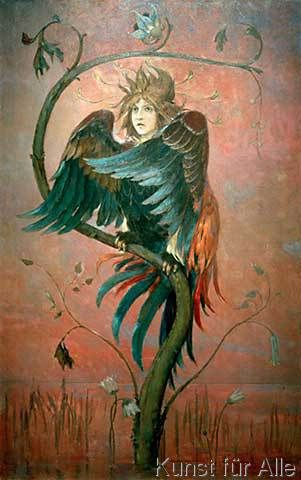 Viktor Michailowitsch Wasnezow - Gamajun, der prophetische Vogel