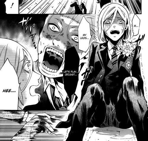 Black Butler Omorashi: