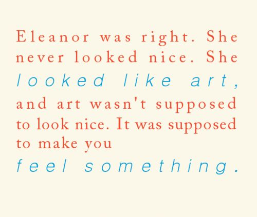 Resultado de imagen de eleanor and park eleanor was right