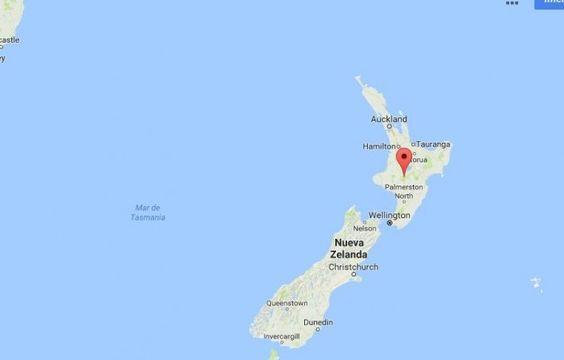 Un fuerte temblor de magnitud 7.1 sacudió la costa de la Isla Norte de Nueva…