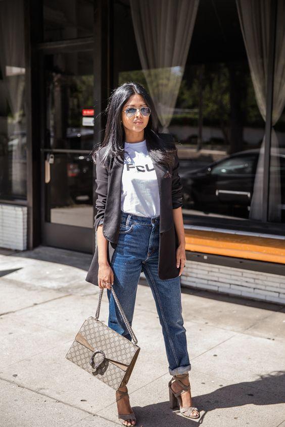 estilo casual com calça jeans fabuloso