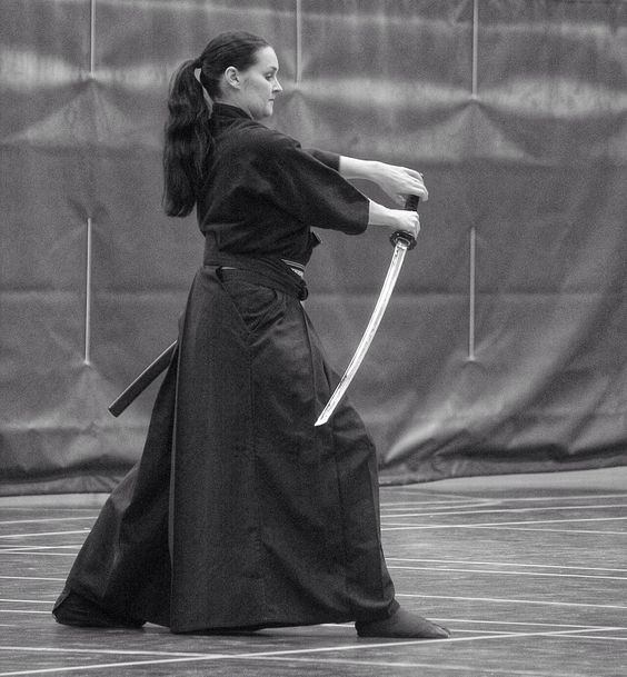 Another great Iaido pic from training during 2013. Have a great 2014 everybody!