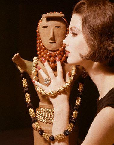 Model Dorothea McGowan 1961