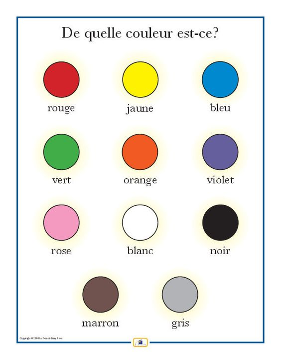 french colors poster pinterest colors in french