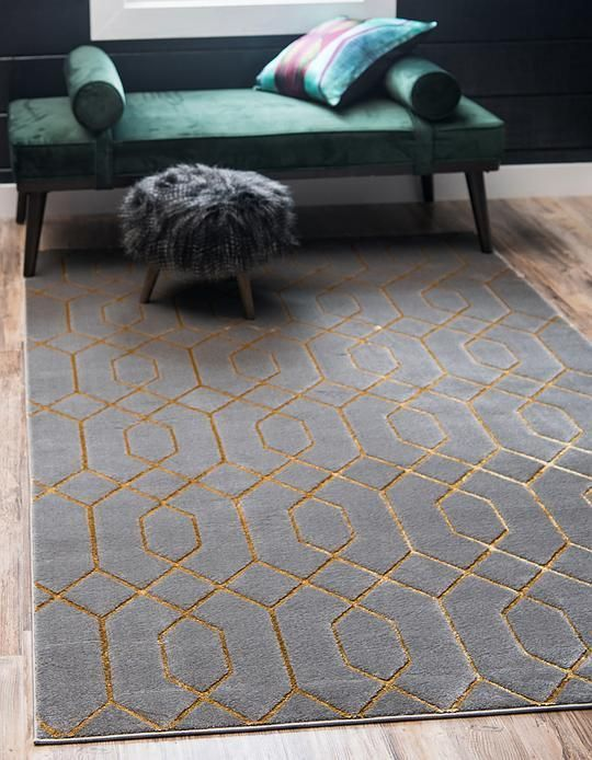 Gray Gold Marilyn Monroe 8482 Glam Trellis Area Rug Grey And Gold Bedroom Grey Area Rug Gold Dining Room