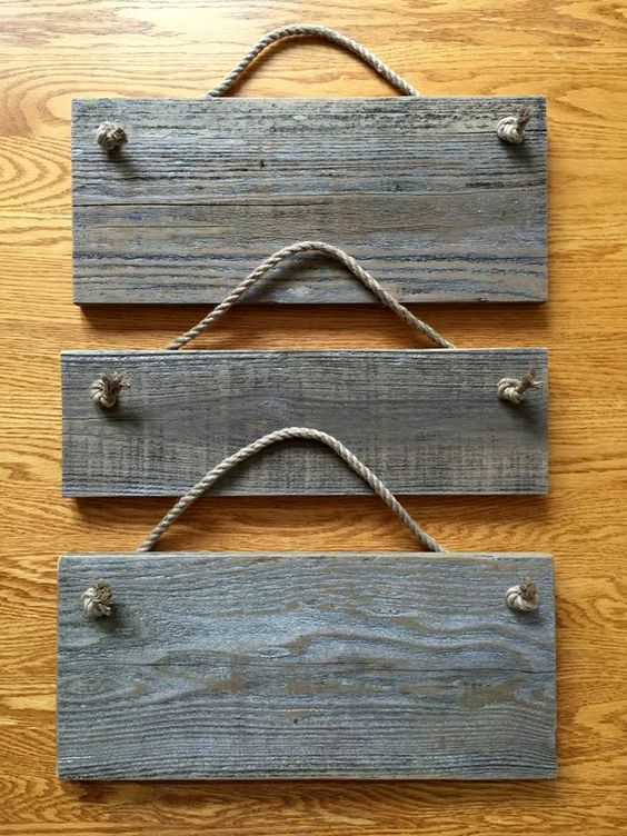 Pallet and Nautical Rope Wall Frames - 130+ Inspired Wood Pallet Projects   101 Pallet Ideas - Part 9