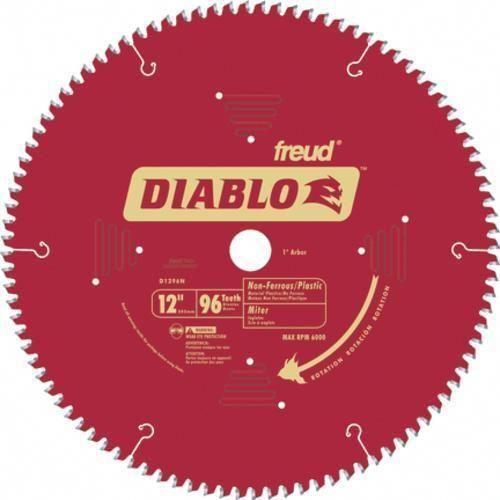 Freud D1080n Diablo Non Ferrous Metal Saw Blade 10 Woodworkingtools Circular Saw Blades Saw Blade Chop Saw