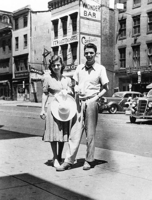 Frank Sinatra and wife Nancy - Sinatra had three children, Nancy, Frank Jr., and Tina, all with his first wife, Nancy Sinatra (née Barbato) (m. 1939–1951).