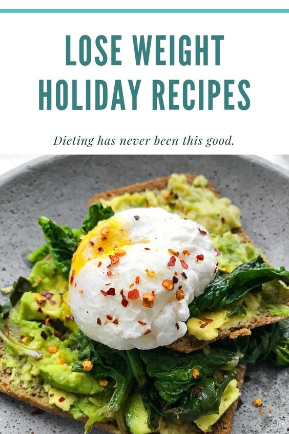 Lose weight holiday recipes