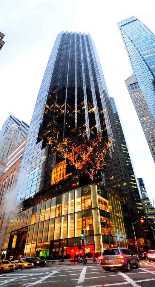 Trump Tower ~ 725 Fifth Avenue, Manhattan, New York ~ Der Scutt (1983) ~ 58 floors (202 m / 664 ft)