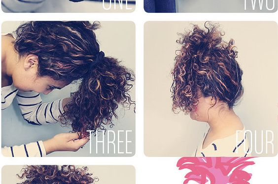 Here's a video that shows you exactly how to plop: | 14 Curly Hair Tips That Actually Work IRL