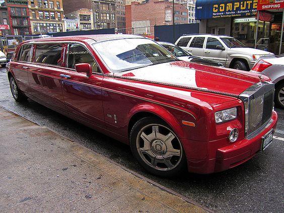Rolls Royce Phantom Stretched Stretch Limousine Pinterest