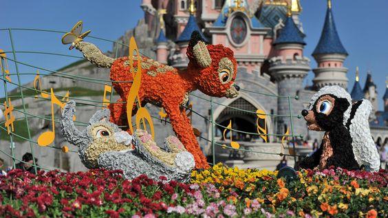 Swing into Spring at Disneyland Paris