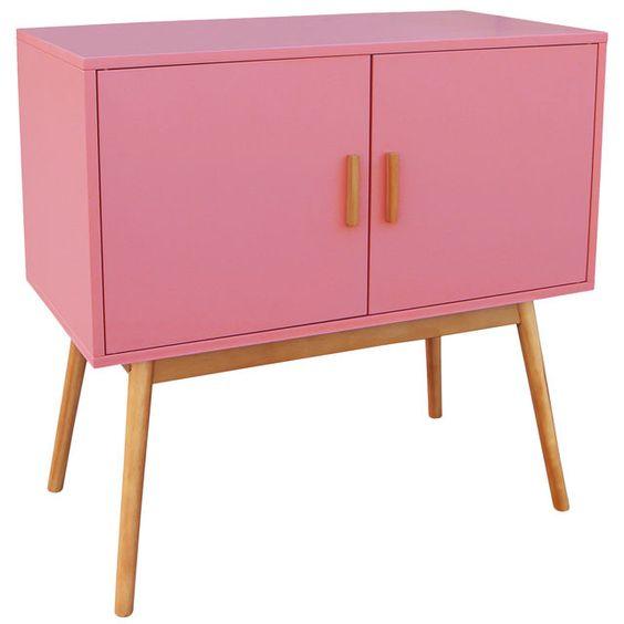 petit buffet rose potiron cliquez sur l 39 image pour shopper bazarchic buffet meuble rose. Black Bedroom Furniture Sets. Home Design Ideas