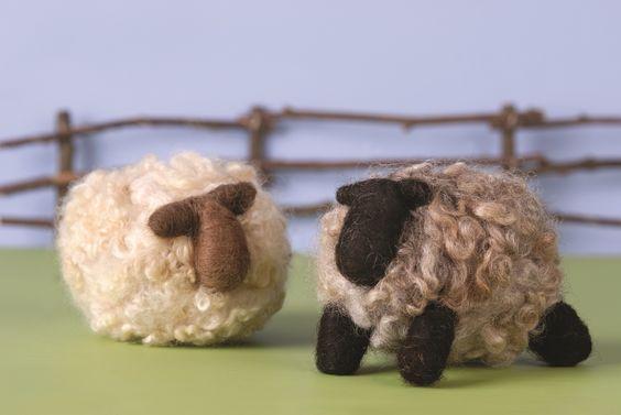 Romney Ridge Farm Sheep Needle Felting Kit  $22.50