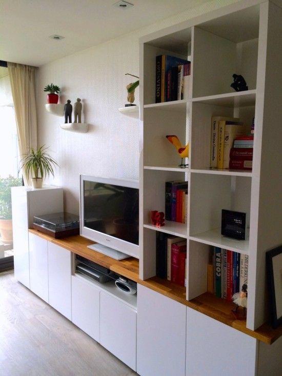 Tv Unit From Ikea Metod Kitchen Cabinets Ikea Living Room Ikea