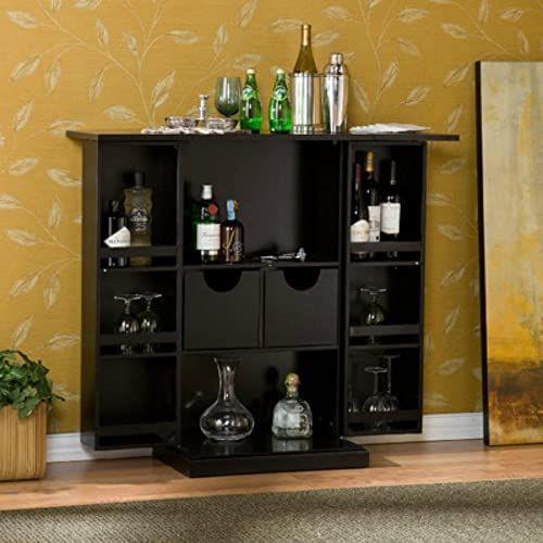 Great For Stylish Bar Cabinet Mini Home Liquor Wine Glass Storage Expandable Furniture Furniture 358 21 Wouldtopshopping From Top Store In 2020 With Images